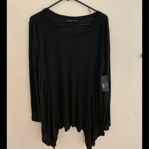 Brand New Long Sleeve Black Shirt from a.n.a.